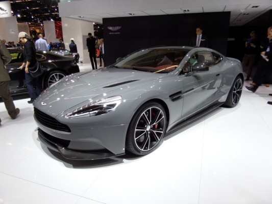 IAA Gewinnspiel Teil 2 - Heute: Aston Martin Vanquish Coupé