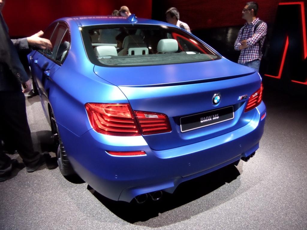 IAA Gewinnspiel Teil 7 - Heute: BMW M5