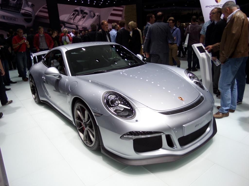 IAA Gewinnspiel Teil 8 - Heute: Porsche 911 GT3
