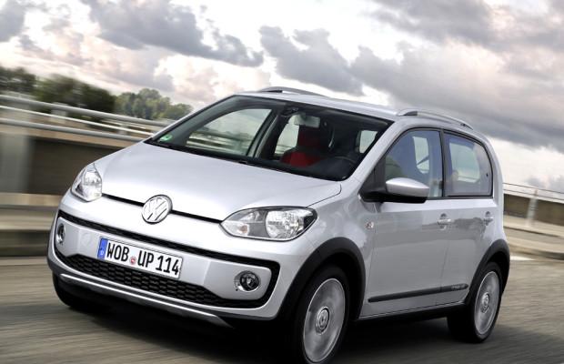 Im Stil eines Klein-SUV: VW hat Cross-Up bei den Händlern stehen