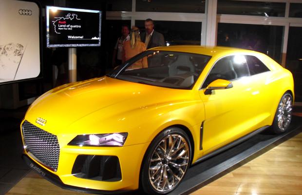 Katapult-Paket: Audi kombiniert im Sport Quattro Concept Biturbo mit Elektromotor
