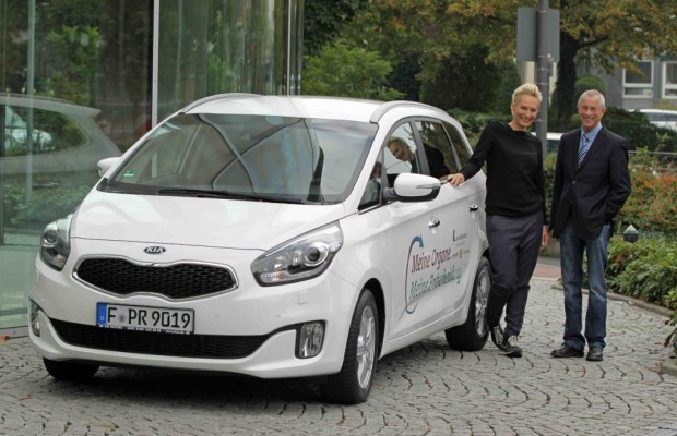 Kia stellt Fahrzeug für Organspenden-Kampagne
