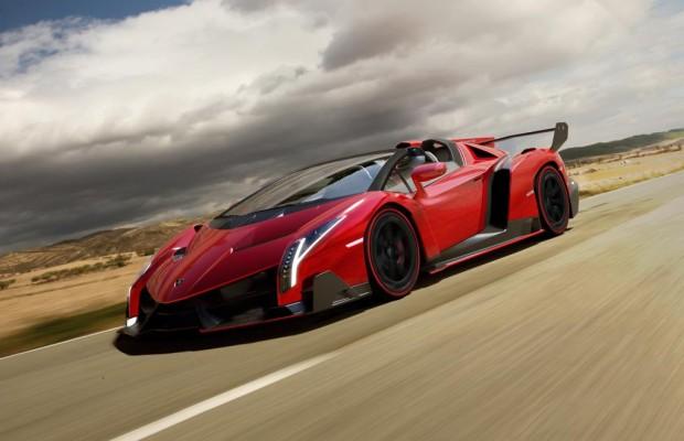 Lamborghini Veneno Roadster: Offener Supersportwagen