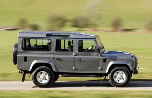 Land Rover: Defender-Nachfolger frühestens 2019