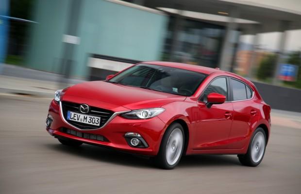 Mazda3 gewinnt Kostenvergleich gegen VW Golf