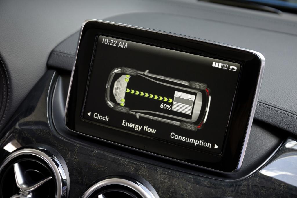 Mercedes B-Klasse Electric Drive: Souveräne Fahrleistung