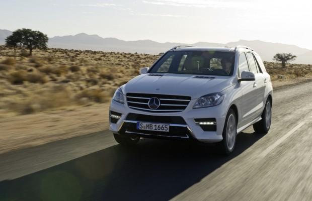 Mercedes-Benz M-Klasse besteht US-Crashtest