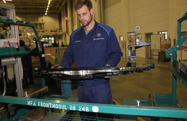 Mercedes-Benz-Werk erhält Auszeichnung für Produktionsverfahren