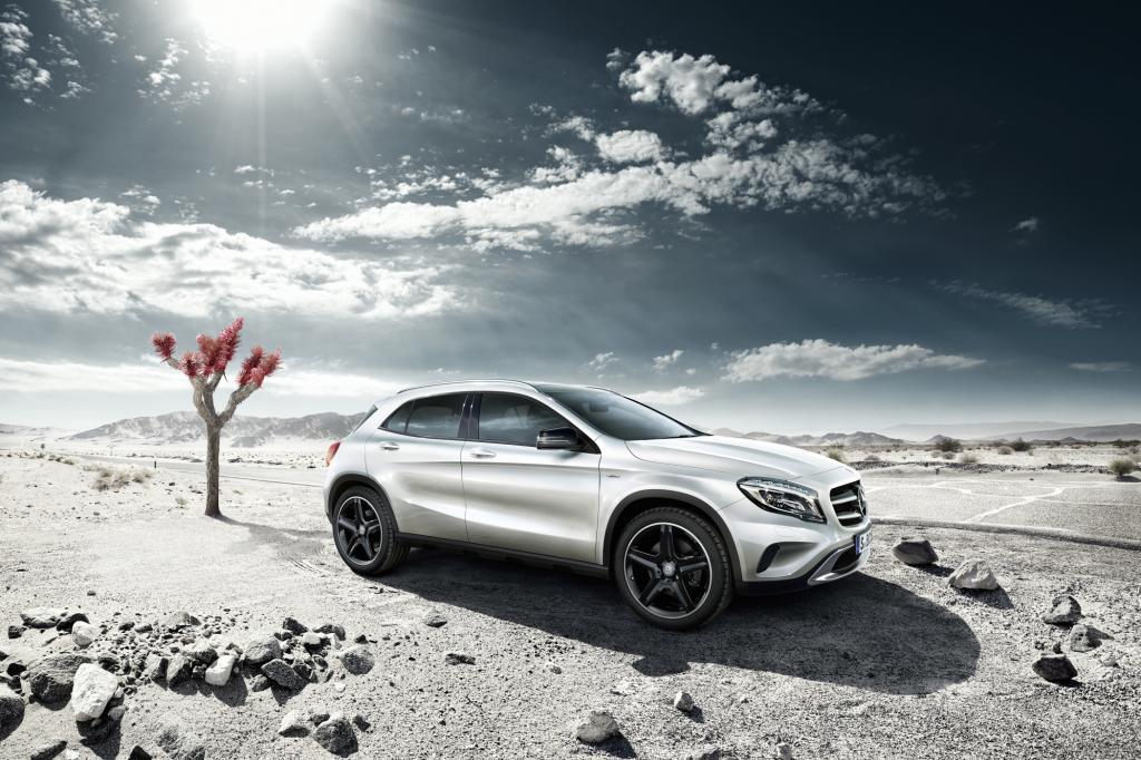 Mercedes GLA Edition 1: Der Erste kommt mit Extras