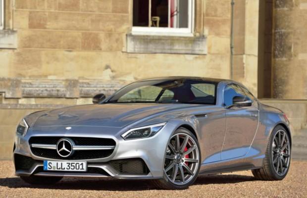 Mercedes GT AMG - 911-Gegner und SLS-Nachfolger