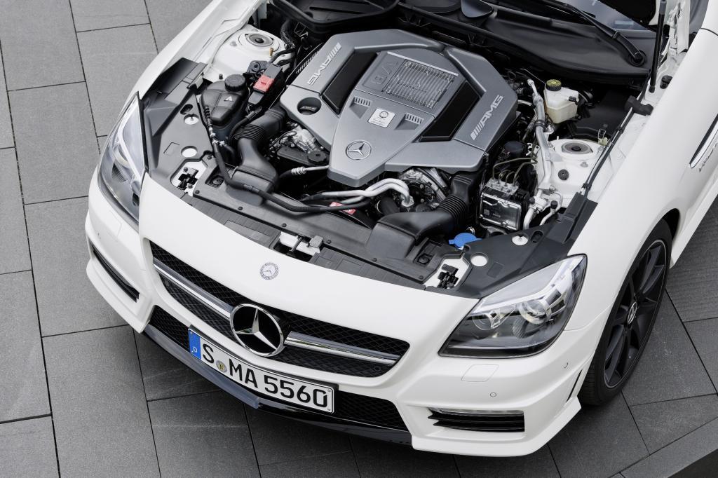 Mercedes SLK Motor