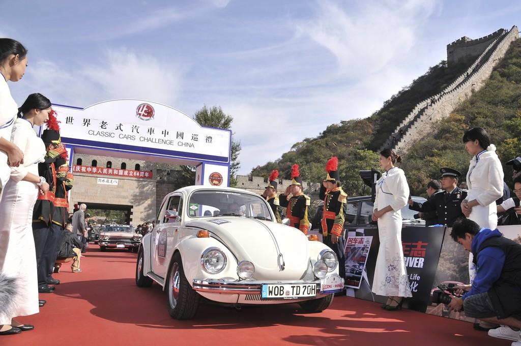 Mit dem Käfer durch China: Jacky Ickx und das Spielzeug des Teufels