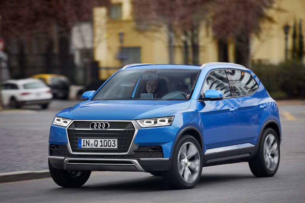 Neuer Mini-SUV von Audi: Der Q1 kommt 2016