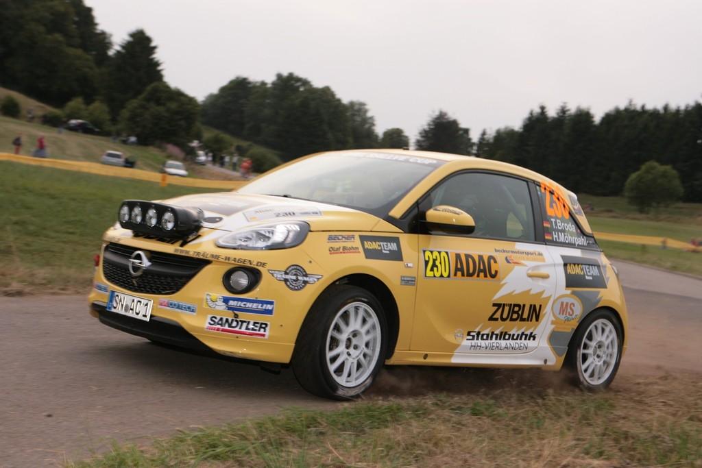 Opel-Rallye-Cup geht in die zweite Runde