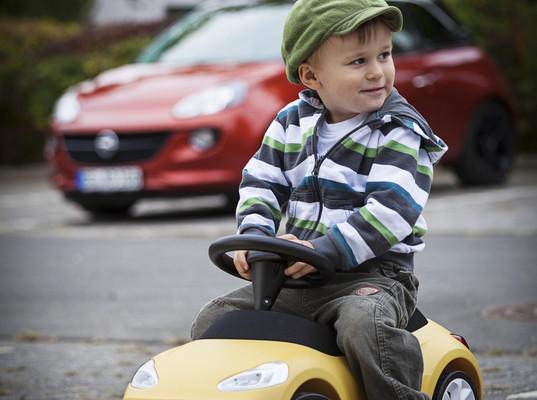 Opel bietet Adam als Rutscheauto