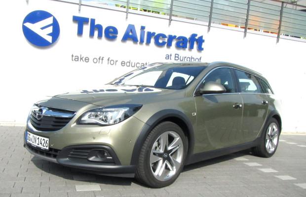 Opel hat Insignia-Neuauflage am Start: Erstmals Country Tourer im Robustlook