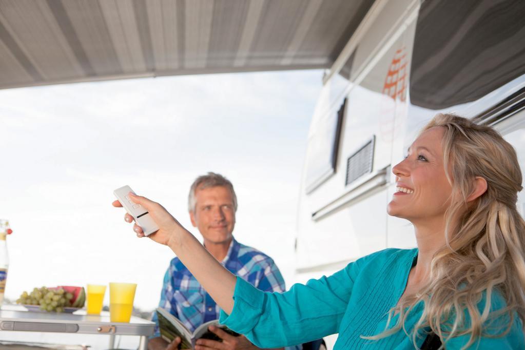 Praktischer Wetterschutz für Freizeitmobile