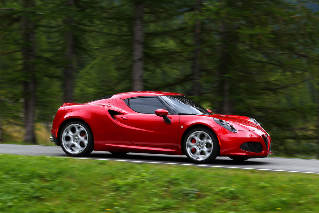 Pressepräsentation Alfa Romeo 4C: Objekt der Begierde