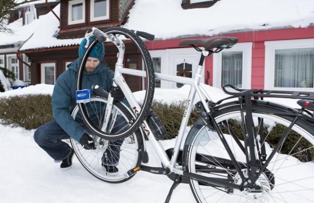Radfahren im Winter - Reifenwechsel fürs Zweirad