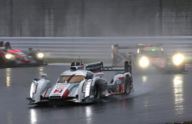 Sauwetter in Japan: Audi verteidigte Langstrecken-Weltmeistertitel