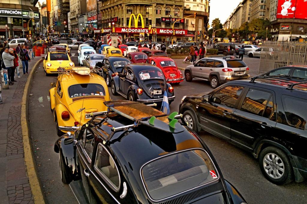 Selbst in Argentinien ist der Escarabajo längst Kult.
