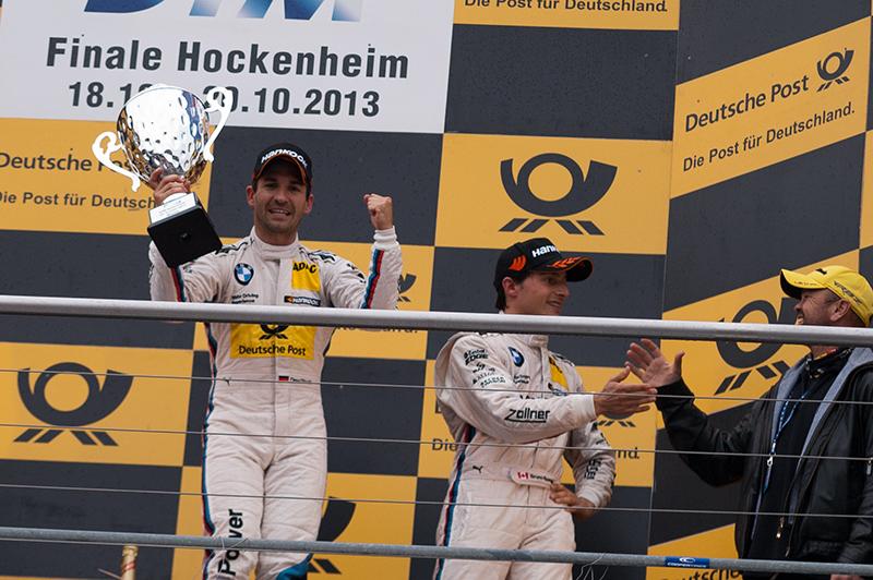 Timo Glock holt beim Finale seinen ersten DTM-Sieg