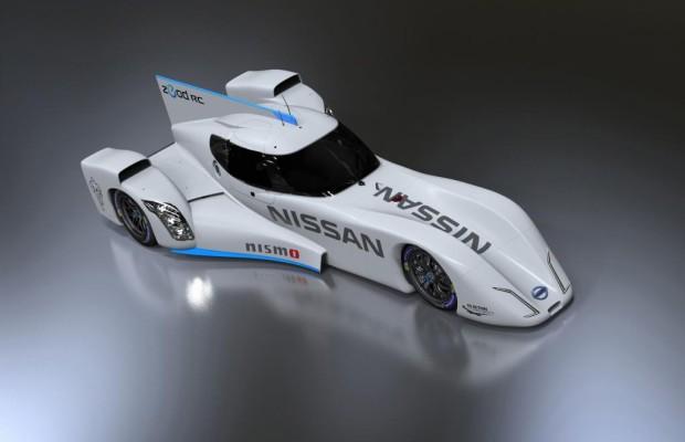 Top-Speed 300 im Elektrorenner von Nissan