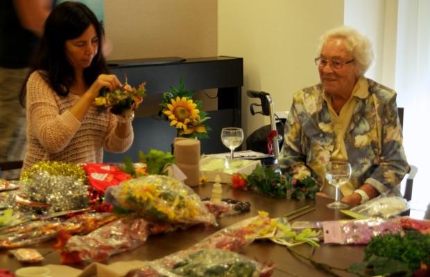 Toyota-Mitarbeiter engagieren sich für Senioren