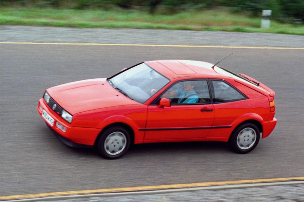 Tradition: 25 Jahre Volkswagen Corrado   -  Flügel nicht zum Fliegen