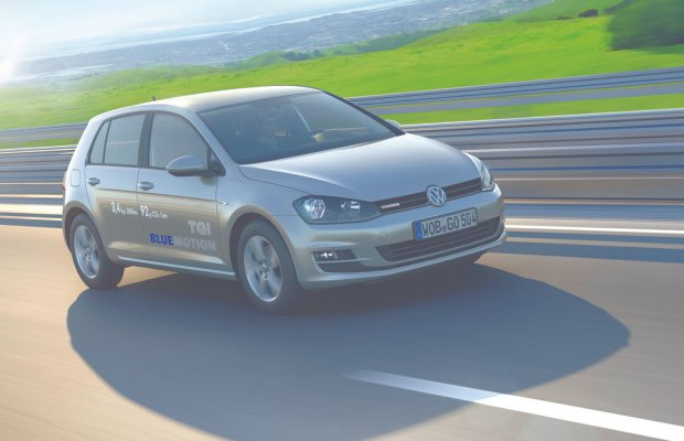 VW Golf TGI Blue Motion ab sofort bestellbar