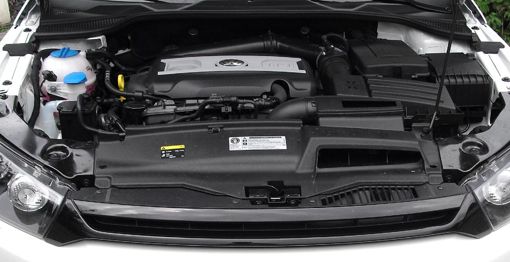 VW Scirocco: Blick auf den 2,0-Liter-Turbodirekteinspritzer.