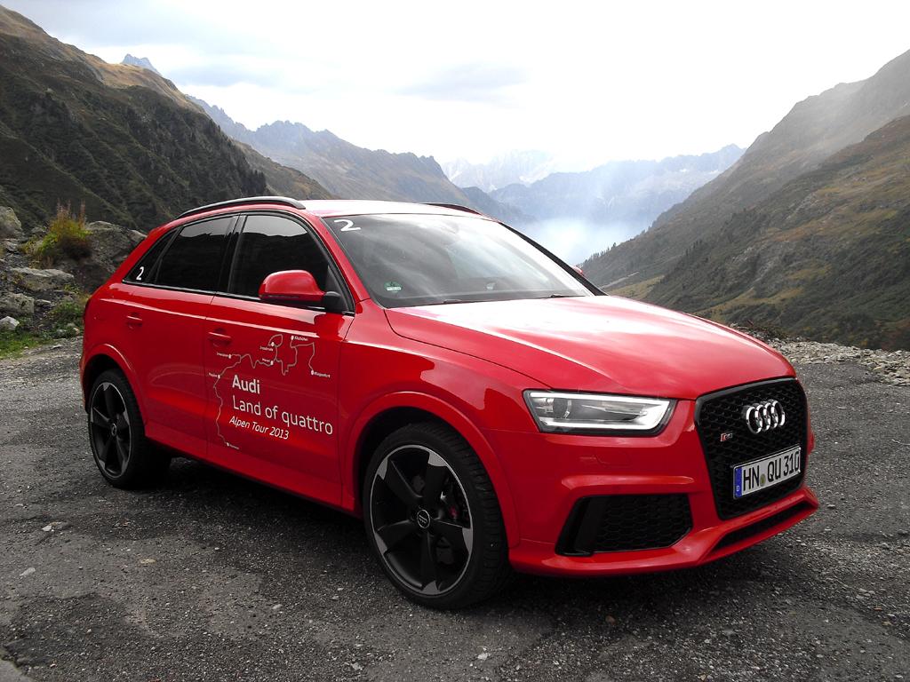 Vierte RS-Produktneuheit in 2013: Audi RS Q3.