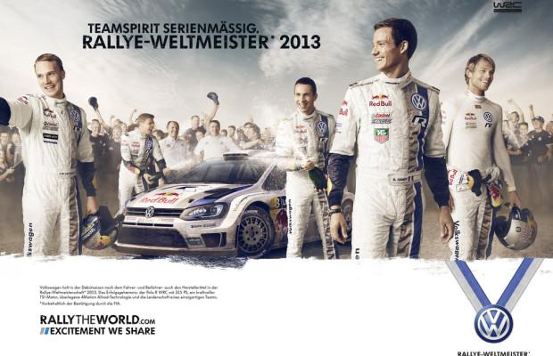 Volkswagen feiert WRC-Sieg mit Werbeaktionen