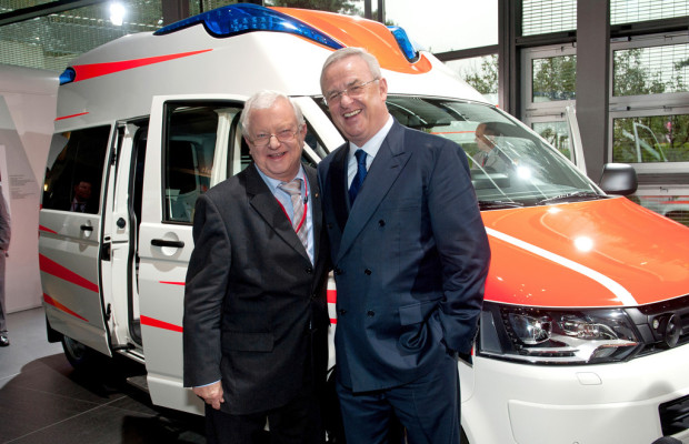 Volkswagen unterstützt DRK-Rettungsdienst-Symposium