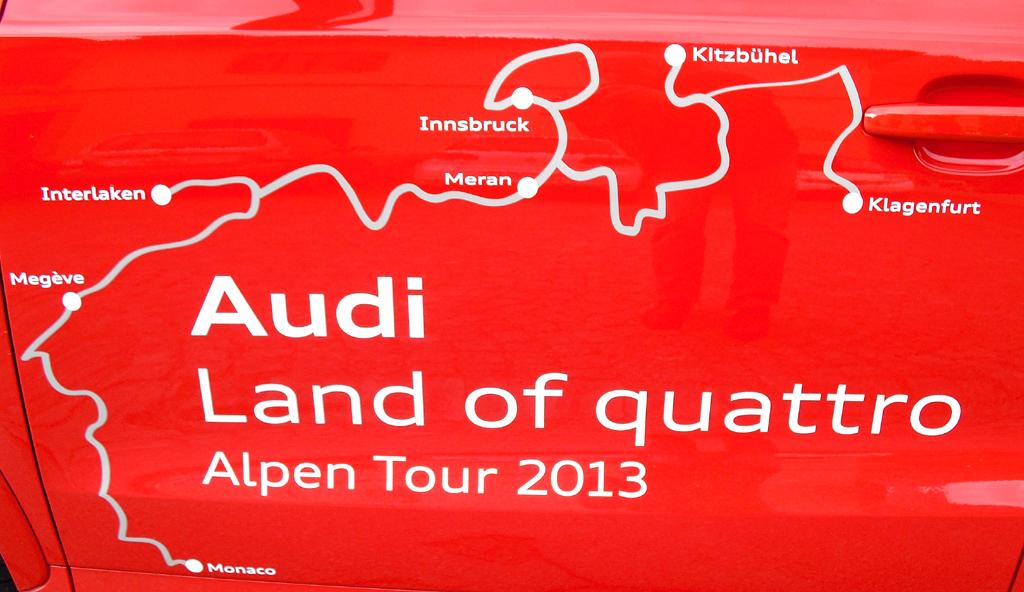 Von Klagenfurt nach Monte Carlo: Audi-