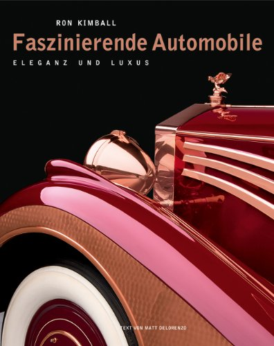 auto.de Buchtipp: Faszinierende Automobile: Eleganz und Luxus