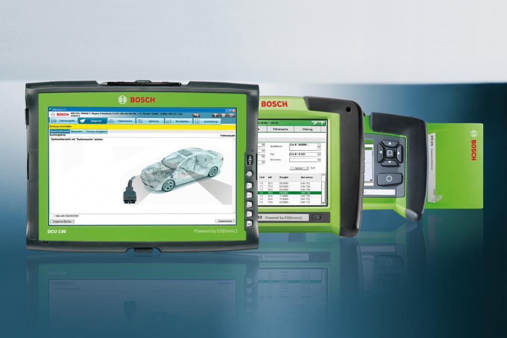 25 Jahre Bosch-Diagnosetester für Steuergeräte