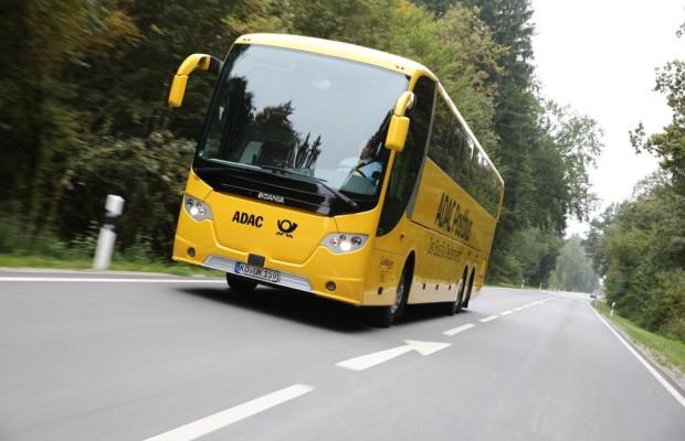 ADAC Postbus - Start mit fünf Strecken