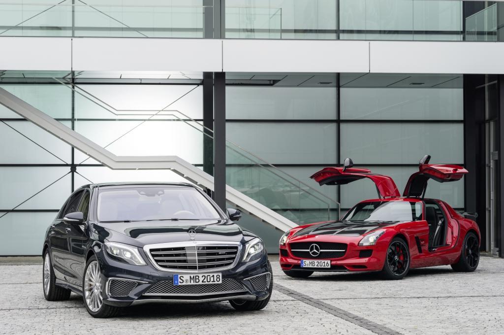 Auch Mercedes setzt auf Leistung