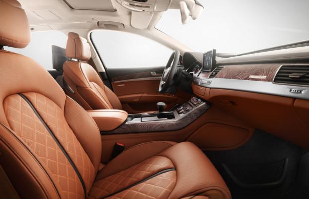 Audi bringt kuschliges Leder in den langen A8
