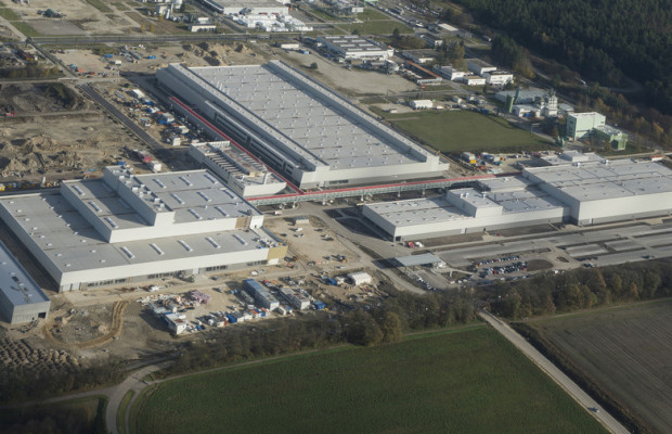 Audi eröffnet neue Fertigung