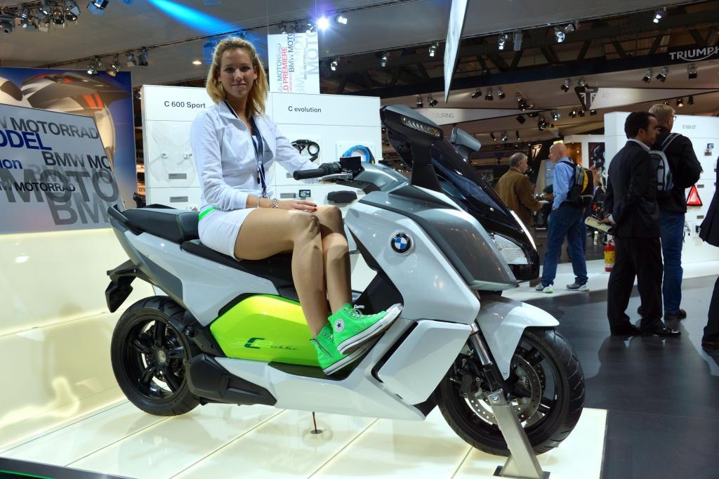 BMW C-Evolution Elektroroller