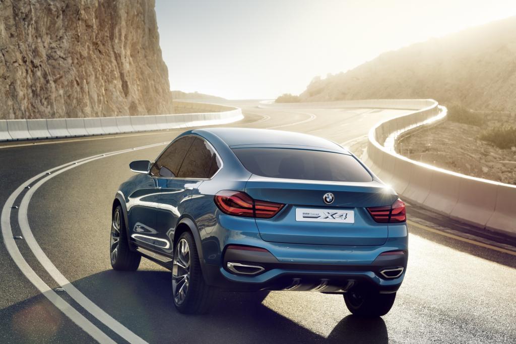 BMW Studie Concept X4 .