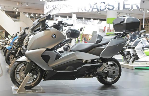 BMW kleidet seine Scooter neu ein