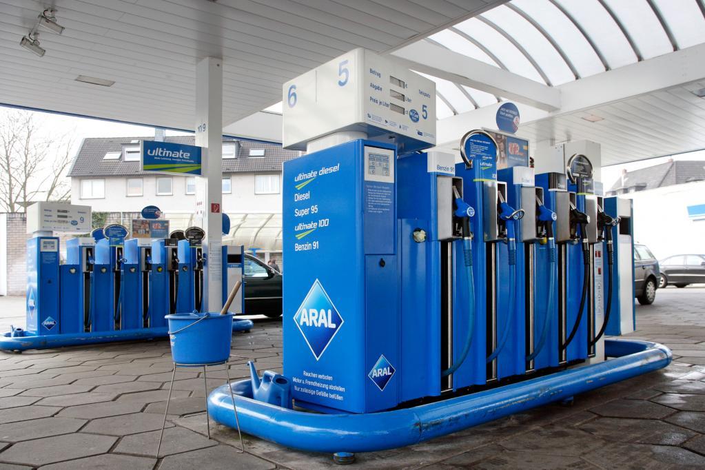 Benzinpreise auf Jahres-Tiefststand