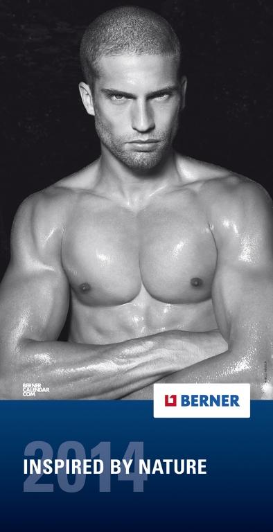Berner Kalender MEN 2014 - Sexy Athleten lassen Muskeln spielen