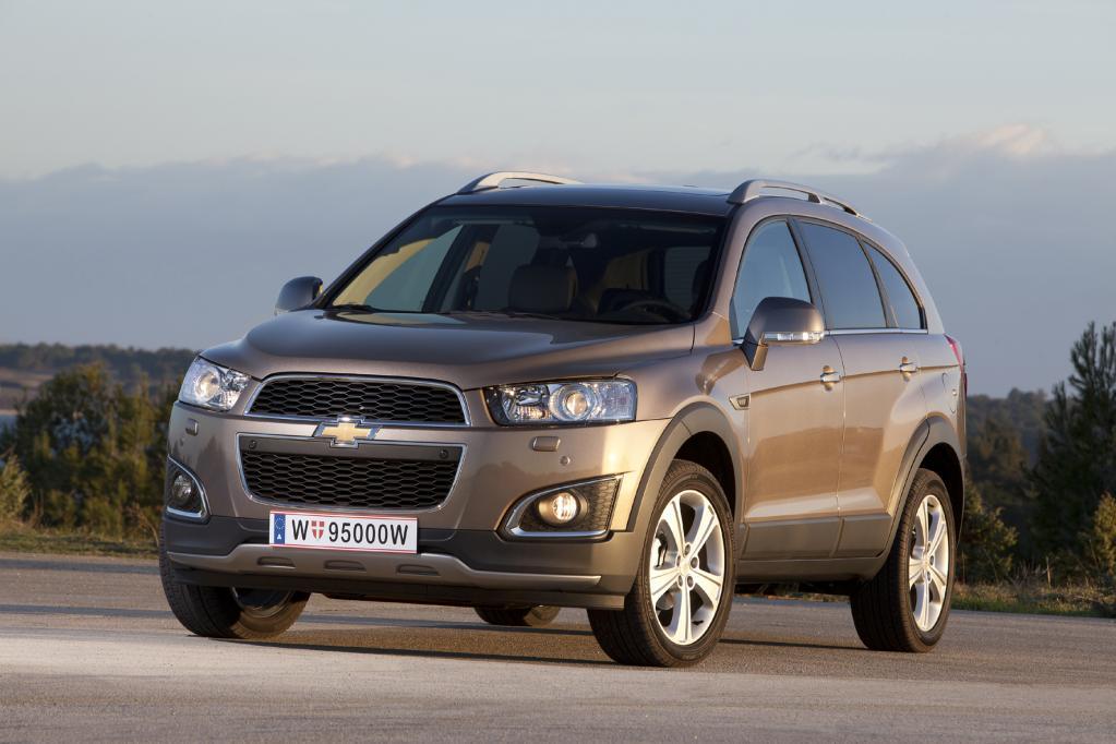 Chevrolet Captiva: Von der Alpe bis zur Kita