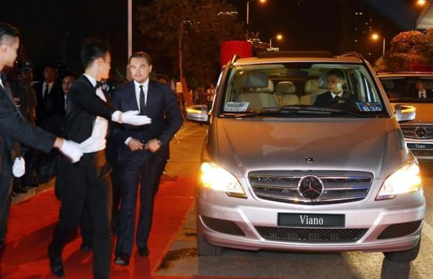 Chinesischer VIP-Transport mit dem Mercedes-Benz Viano