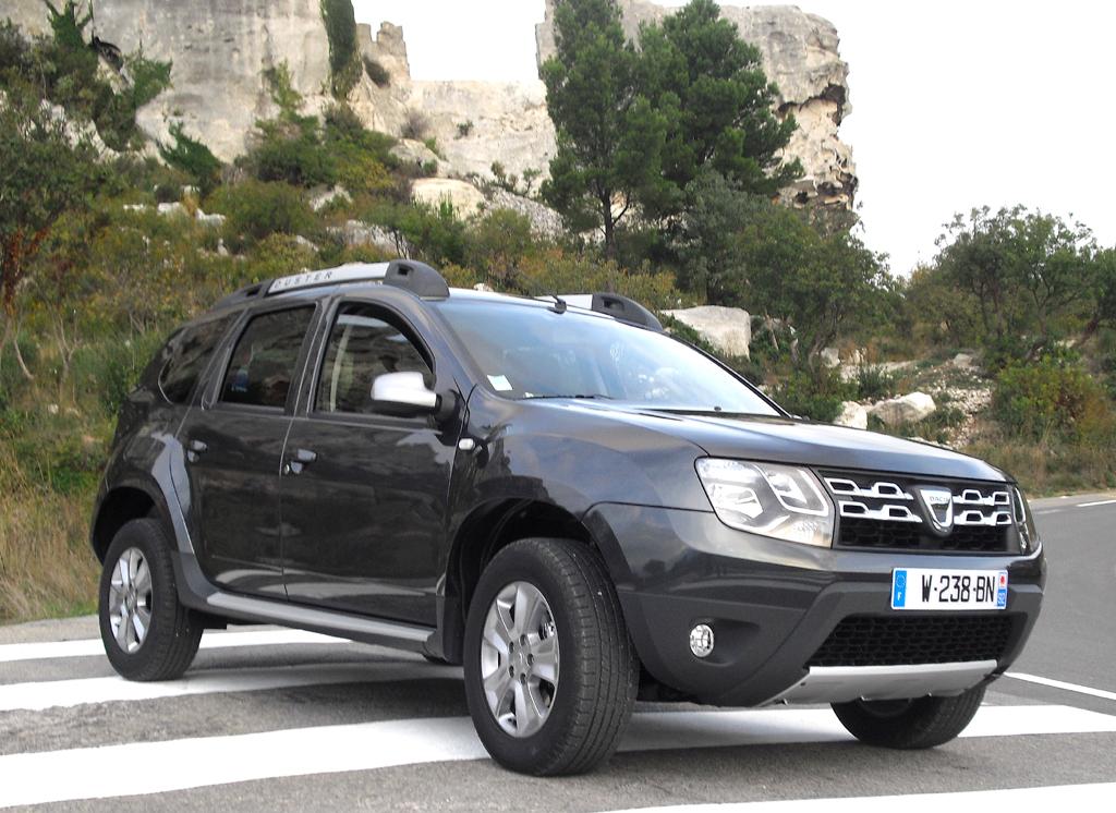 Dacia hat den Duster aufgefrischt.