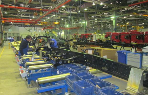 Daimler baut Lkw-Montage in Russland aus